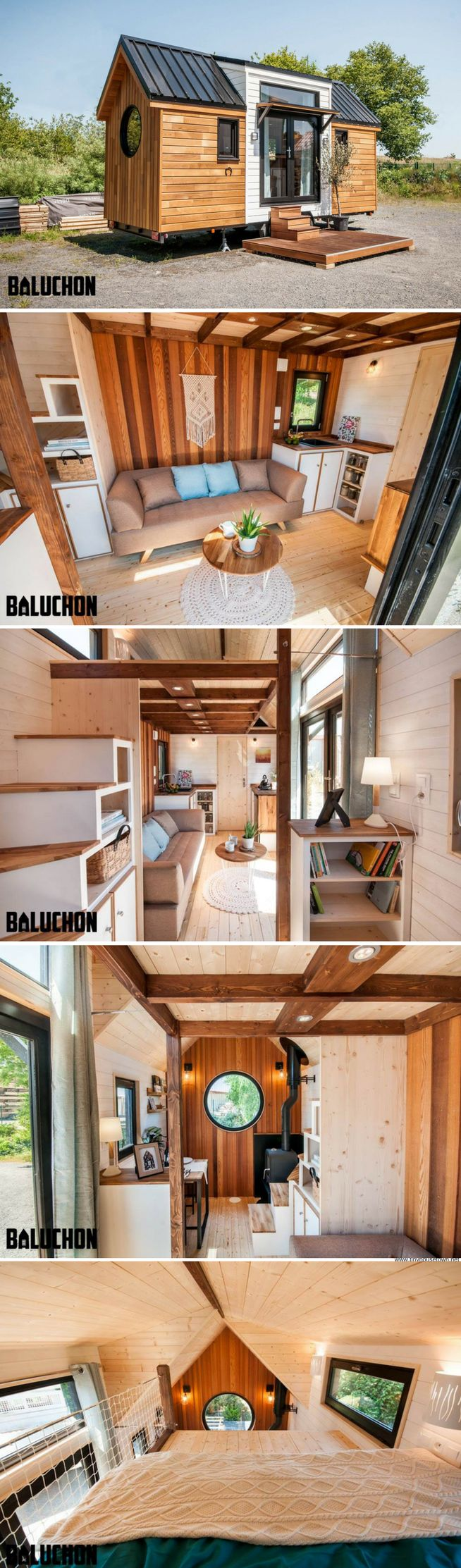 The Ostara Tiny House from Baluchon