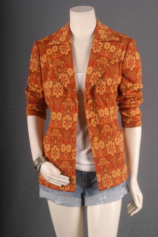 Batik Jacket Tie Dye Kimono Duster Coat Blazer by sparrowlyn, $41.00