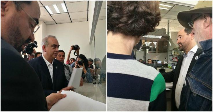 Álvarez Icaza denuncia ante el INE a Alfredo Del Mazo por el caso OHL