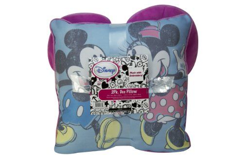 Disney Mickey And Minnie Decorative Pillow, Pack Of 2, 2015 Amazon Top Rated Pillows #Home