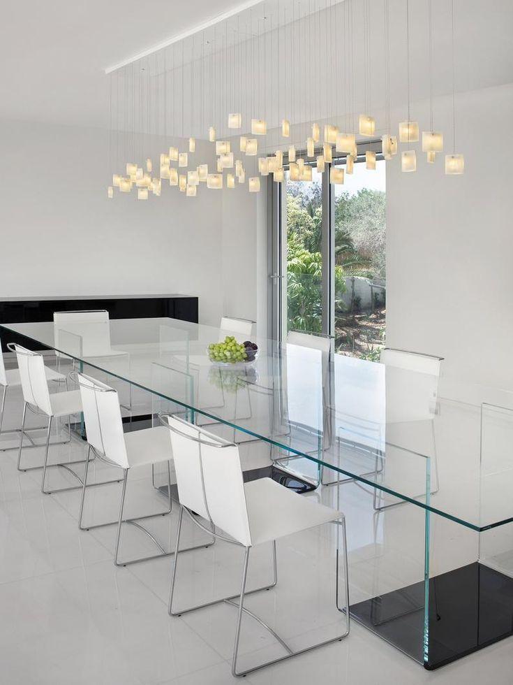 Dining Room Lighting Hand Blown Glass Modern Dining Room