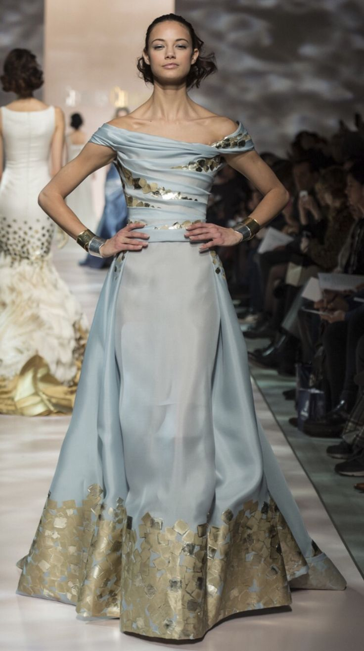 Georges Chakra Spring Couture 2015 Paris