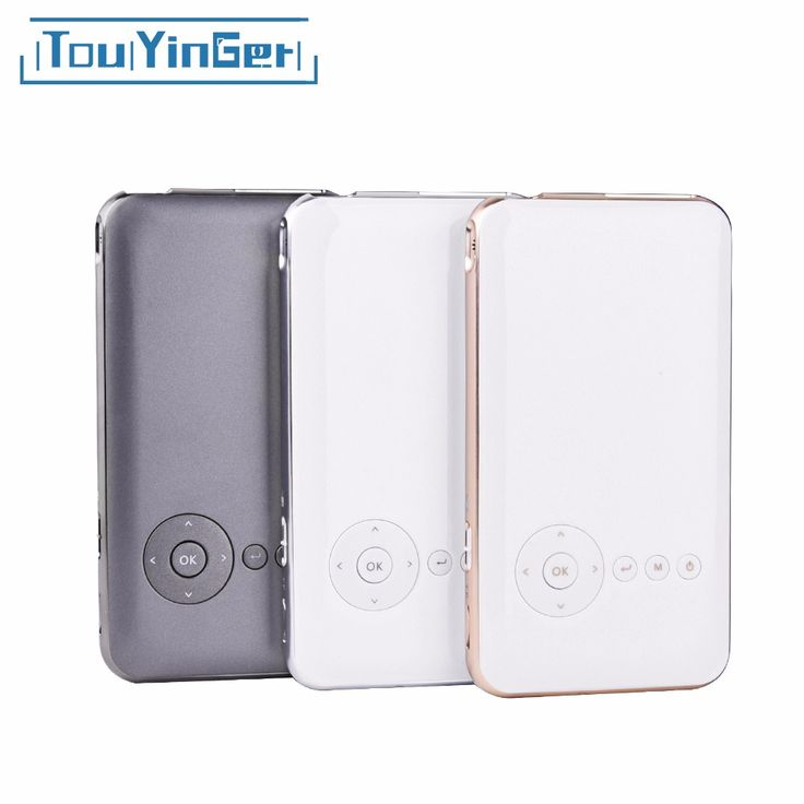 Touyinger Everycom S6 Plus 16GB 32GB Android AC3 Bluetooth pocket mini phone projector dlp wifi portable TF HDMI videoprojecteur