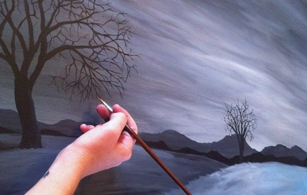 1000 images about art on pinterest abstract paintings for Simple easy paintings