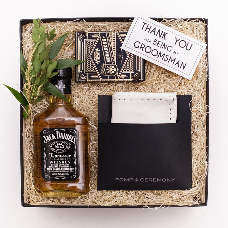 GROOMSMAN - Thank you gift Groomsman gift box www.presentdaygifts.ca