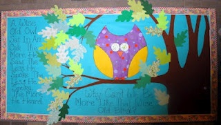 why can't we be like the owl from Bulletin Boards to Remember