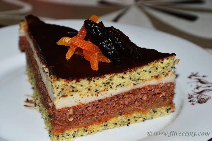 Oliverova oriešková torta :: Fitrecepty