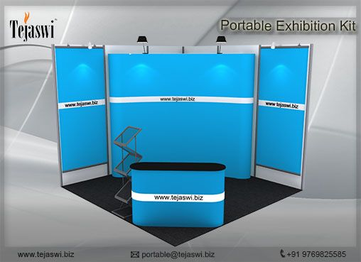 One of the Most Prominentc combo of 3 Meter x 3 Meter 1 Side Open Exhibition Stall using Portable Exhibition Solution. 3 Meter x 3 Meter Exhibition Stall Combo, 9 Square Meter Exhibition Stall Combo, Portable Exhibition Stall Combo for 3 Meter x 3 Meter Exhibition Stall, 9 Square Meter Portable Exhibition Stall