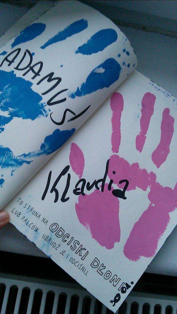 Podesłała Klaudia Zadrożna  #zniszcztendziennikwszedzie #zniszcztendziennik #kerismith #wreckthisjournal #book #ksiazka #KreatywnaDestrukcja #DIY