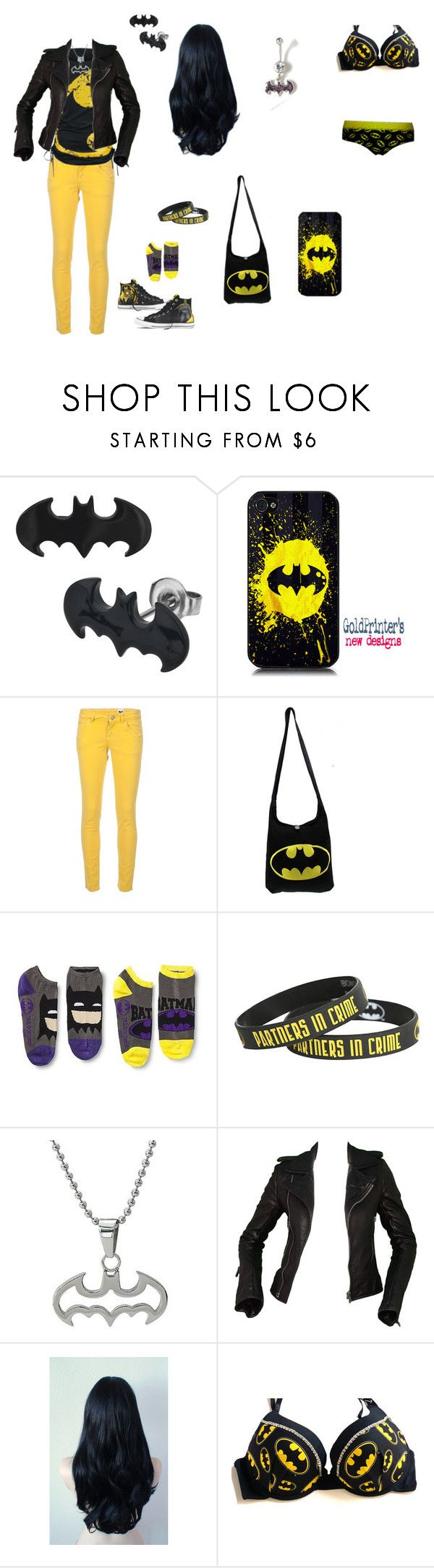 """Love De Batman"" by evil-unicorn90 ❤ liked on Polyvore featuring Converse, Samsung, M Missoni and Balenciaga"