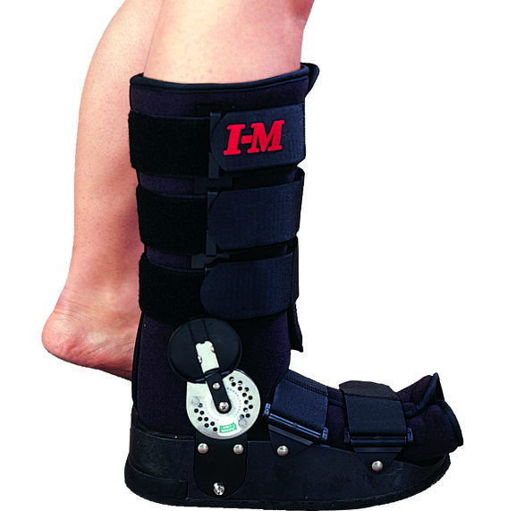 Its an air walker. It promotes weightbearing to athletes or patients who have moderate to severe ankle sprain and gives stabilization to ankle for faster healing process of the injury.