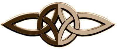 Este símbolo celta de amor eterno está formado por dos triskeles. Cada uno de los triskeles, tiene tres nudos (tres puntas), denotan los tres aspectos de una persona, cuerpo, mente y alma. Los dos triskeles, unidos juntos, demuestran un círculo. El círculo representa el amor eterno, la vida o la eternidad. Así la figura representa a dos personas, unidas en cuerpo, mente, y alma en amor eterno.
