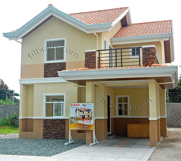 contractor custom house design philippines land developer 2 storey model home - Small House Design 2