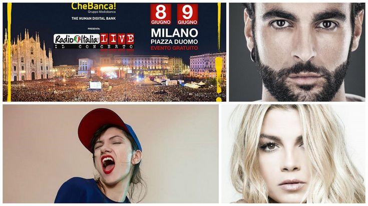 Radioitalia live-Il concerto:  tra gli ospiti di questa sera , Emma, Mengoni, Antonacci, Elisa, Renga e tanti altri