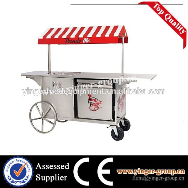 food cart, View food carts for sale, YINGER Product Details from Guangzhou Yinger Kitchen Equipment Factory on Alibaba.com