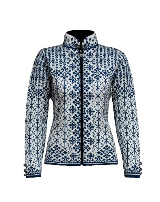 Dale of Norway: Kara Beautiful women's cardigan featuring a full zip, velvet zipper detailing and slit cuffs with buttons. Made with soft Norwegian wool. Ha...
