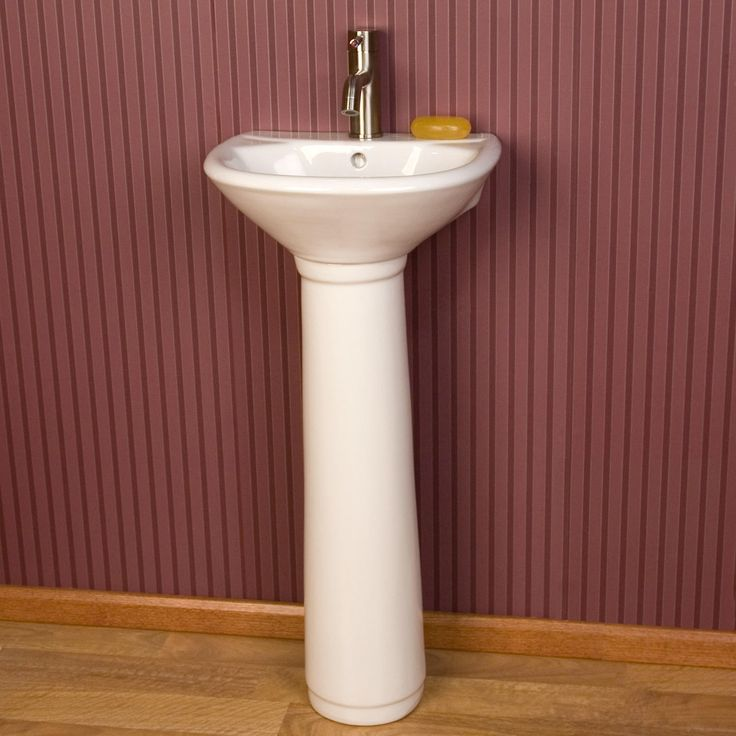 Farnham Porcelain Mini Pedestal Sink Pedestal Minis And Mom