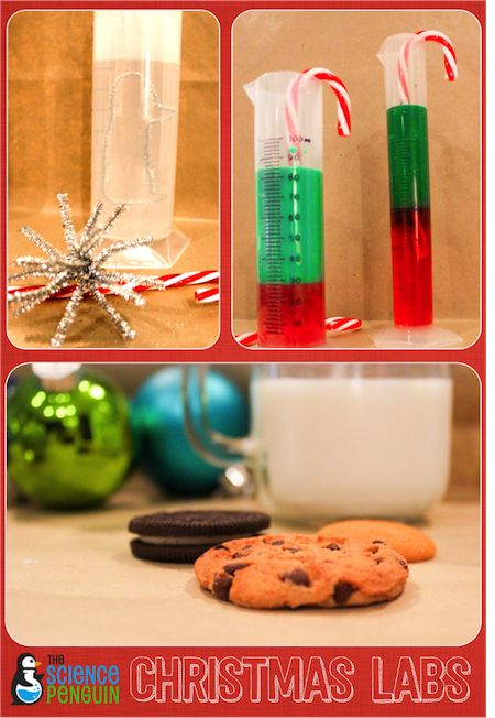 Christmas Science Labs-- 5 fun activities for upper elementary.  Perfect for December!