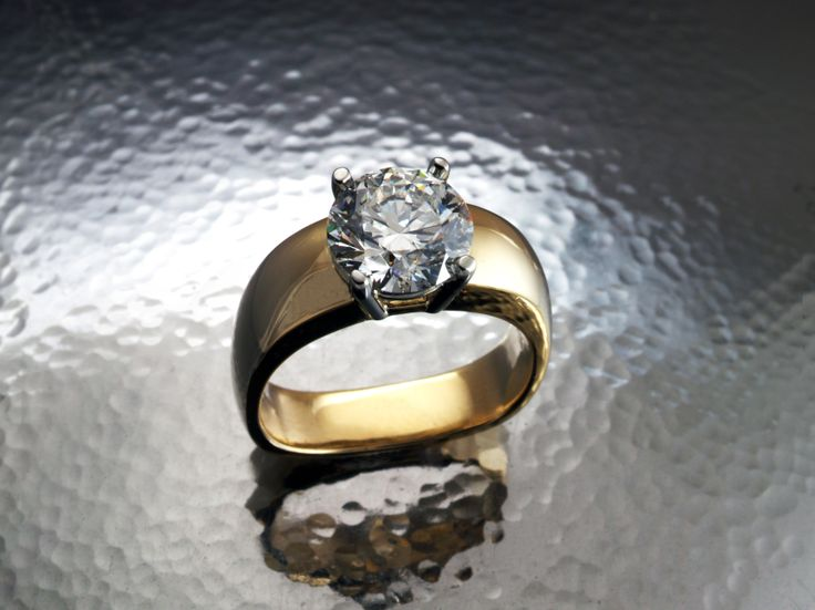 One of a kind diamond engagement ring by David Keeling Fine Jewellery.