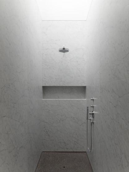 what about large pieces of carerra for the entire shower walls. 1000  images about Bathrooms on Pinterest   Taps  Modern luxury