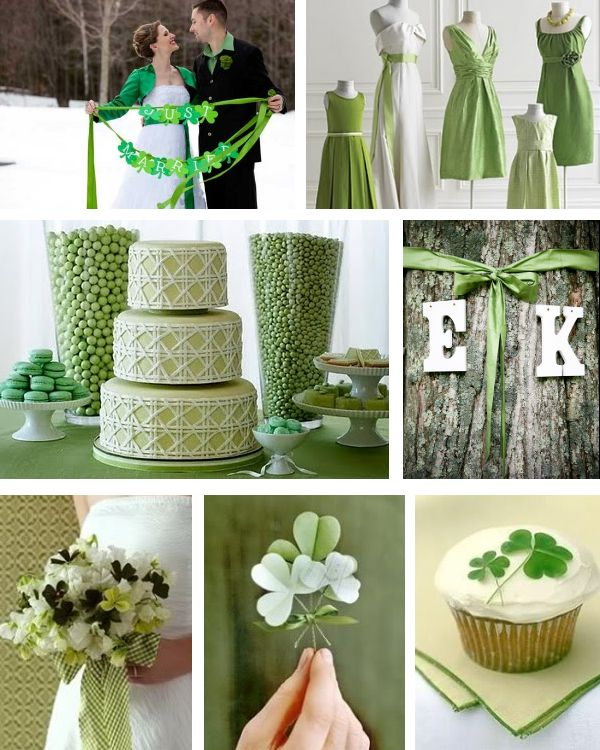 St. Patricks Day Wedding