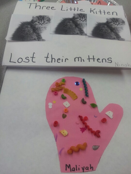 Three little kittens lost theirs  mittens activity
