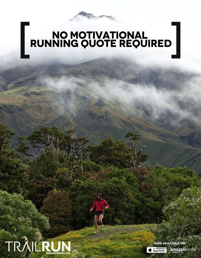 Trail running...no quote required! I <3 trail running!