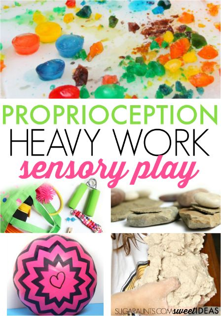 Proprioception sensory activities are a great way to encourage attention, focus, and calming self-regulation for kids.