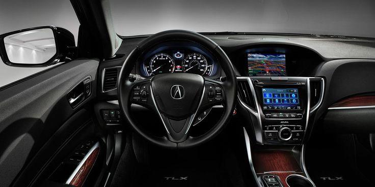 2015 Acura TLX V-6 with Advance Package and Ebony interior | Acura.com