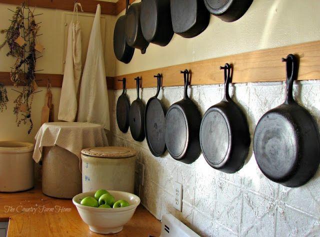 The Country Farm Home: Farmhouse Kitchen