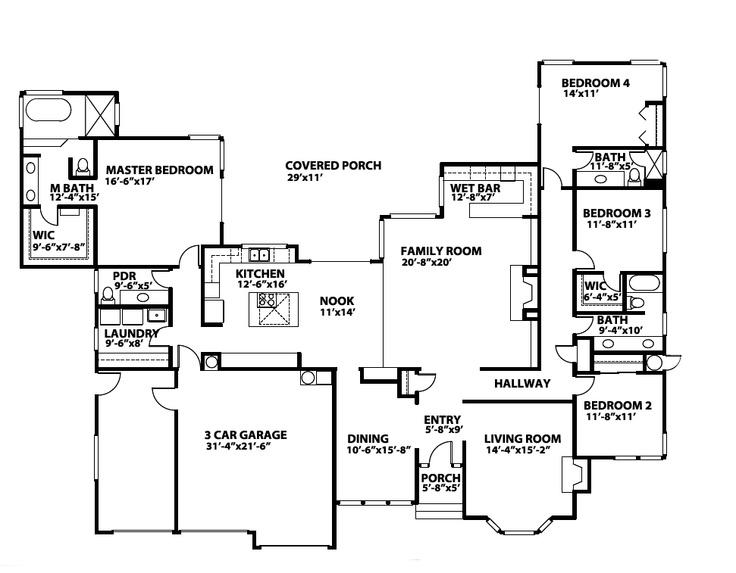 62 Best House Plans Images On Pinterest Floor Plans