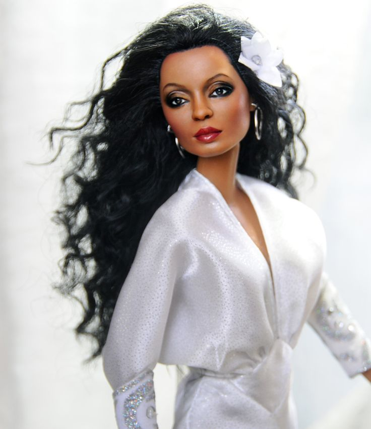 artwork+featuring+diana+ross | ... about OOAK 11 1/2 inch Mattel doll art repaint DIANA ROSS by Noel Cruz