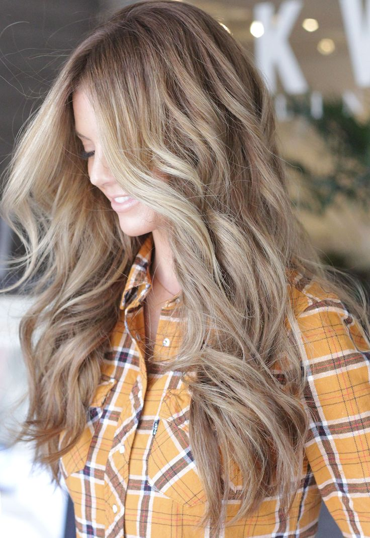 Light Blonde Hair Balayage