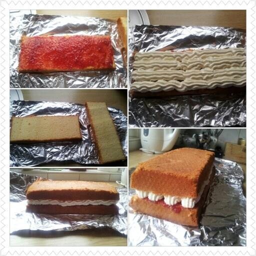 Een gevulde cake voor tussendoor!