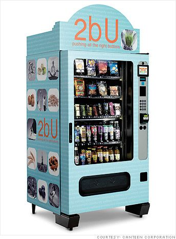 Innovation In Vending Machines
