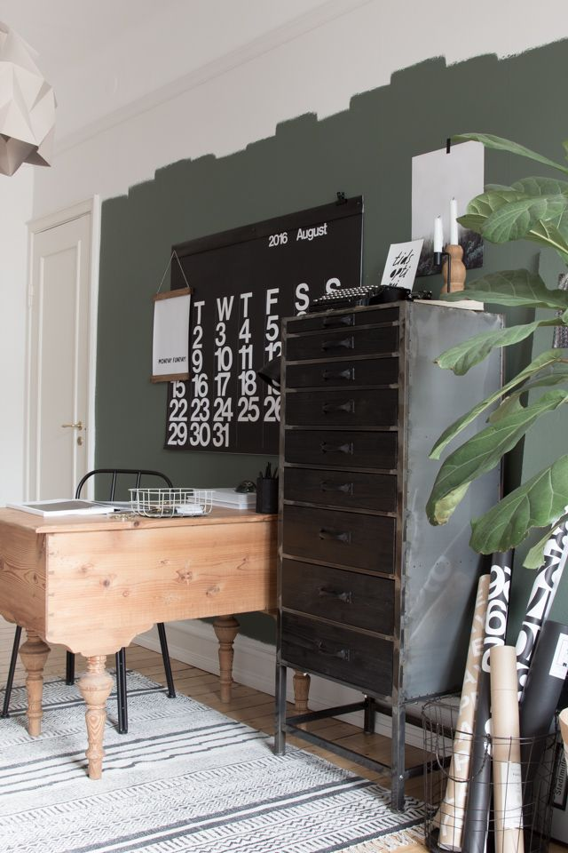 my scandinavian home: The beautiful workspace of an interior designer