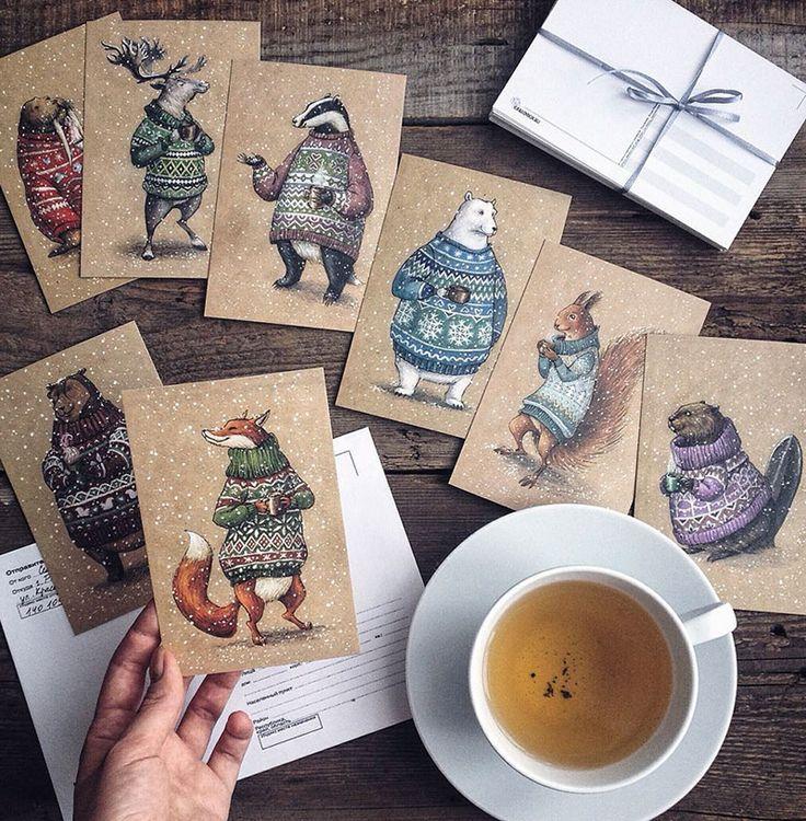 Сказочные рисунки русского художника цветными карандашами - P-i-P.me