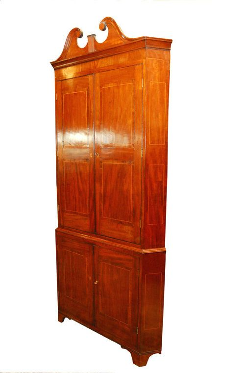 SUPERB GEO111 MAHOGANY CORNER CUPBOARD - Antiques Atlas - 23 Best Antique Cupboards/cabinets Images On Pinterest Cupboards