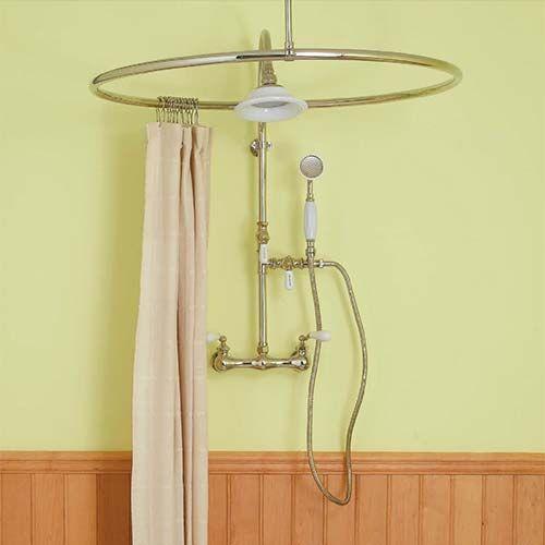 best 20+ victorian shower curtain rods ideas on pinterest | small