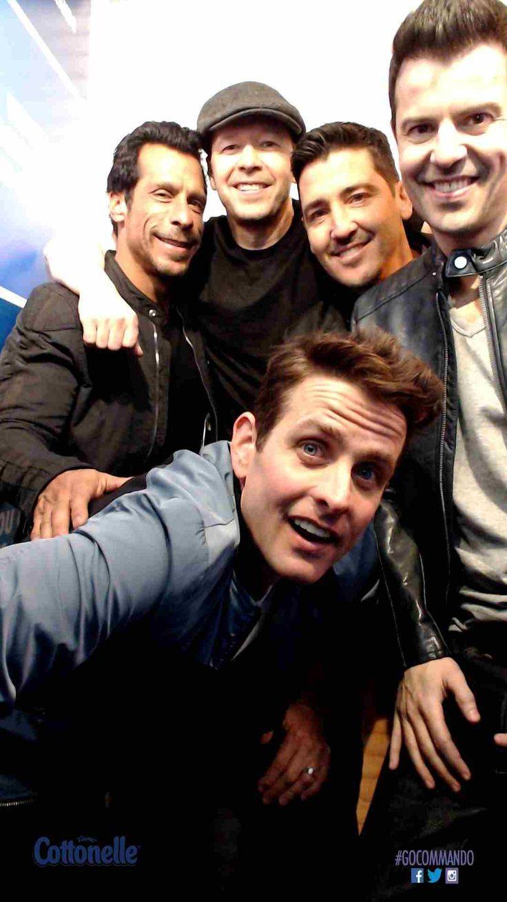 New Kids on the Block and fans