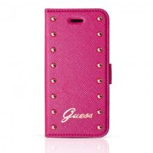 Forro iPhone 6 Guess Booklet Studded - Rosa $ 78.500,00