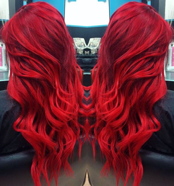 17 Best Ideas About Fire Red Hair On Pinterest  Fire Hair Fire Ombre Hair A