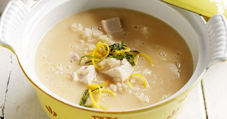 Make the most of lemons this season with this tanglicious Greek chicken soup.
