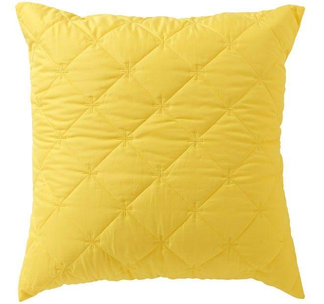 Vivid Coordinates European Pillowcase Chartreuse - Shop