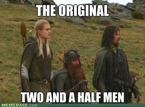 """If someone were to call Gimli """"half a man"""" to his face, I'm relatively certain it would be the last thing they did."""