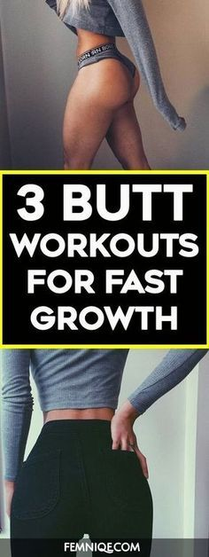 How To Get A Bigger Butt Using Weights - These butt exercises with weight will help to trigger your glutes to grow bigger, rounder and firmer. If you are doing any bigger butt workouts then you need to give these a try! You will notice the difference quic http://womensbust.com/natural-ways-to-increase-breast-size