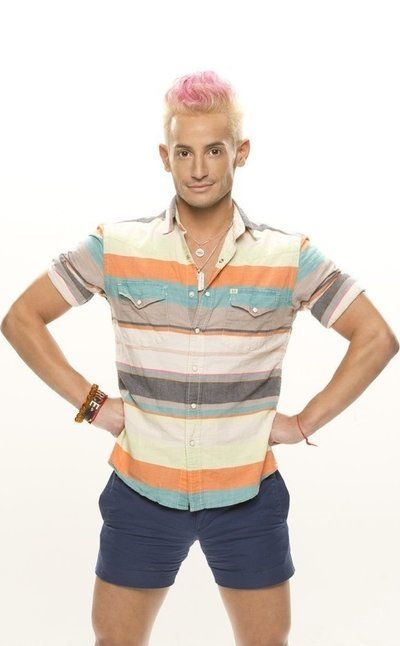 Meet Big Brother 16 houseguest Frankie Grande. Pin or Like if you are rooting for Frankie this season.