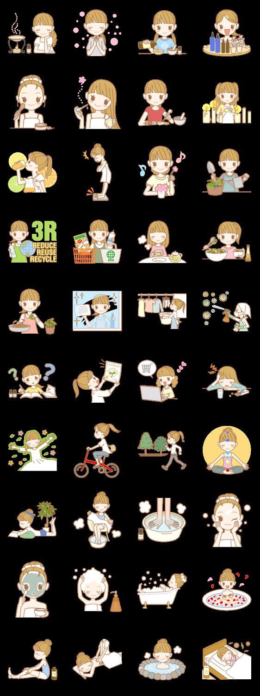 AROMATO Aromatherapy LINE Creators' Stickers in 2020