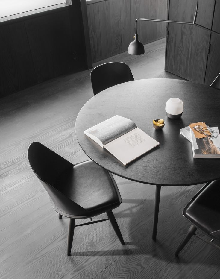 MENU | Snaregade Table and the Synnes Chair