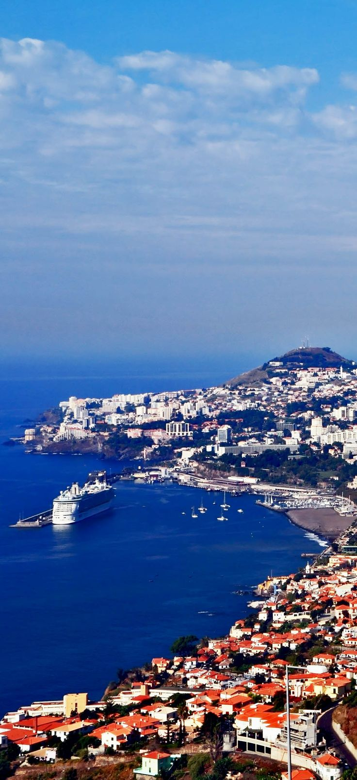 The capital of Madeira Island - Funchal city, Portugal